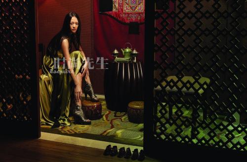 章子怡:内心强悍的温柔女人 - 《时尚先生》 - hiesquire 的博客