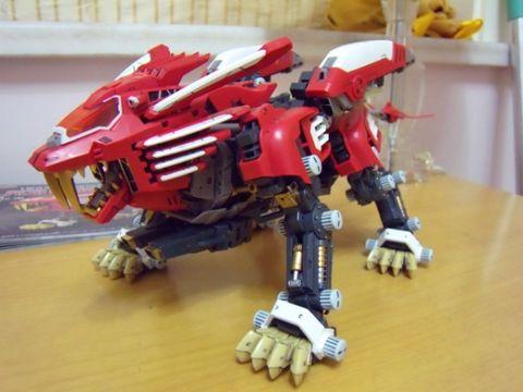 HMM:RZ-028 Blade Liger AB Leon Ver.进度95  - 速水鉄 - 速水鉄の工作室