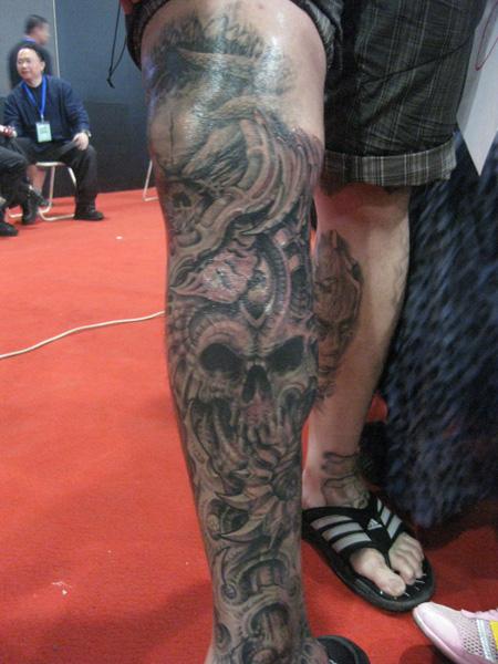 转] 2010年 中国(国际)纹身展 廊坊