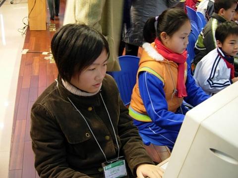 【图片】全国纵横信息数字化学习研究教学实验课题研讨会图片 - 纵横一家人 - 济源纵横码abc