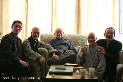 当《济公》游本昌遇见梦老 - 梦参老和尚 - 梦参老和尚的博客