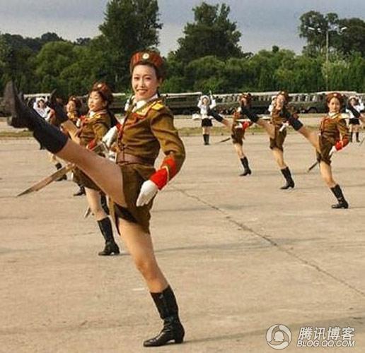 北朝鲜的美女不用化妆