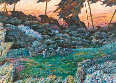 世纪末的风啊 - 应歧的油画风景 - 应歧的油画风景