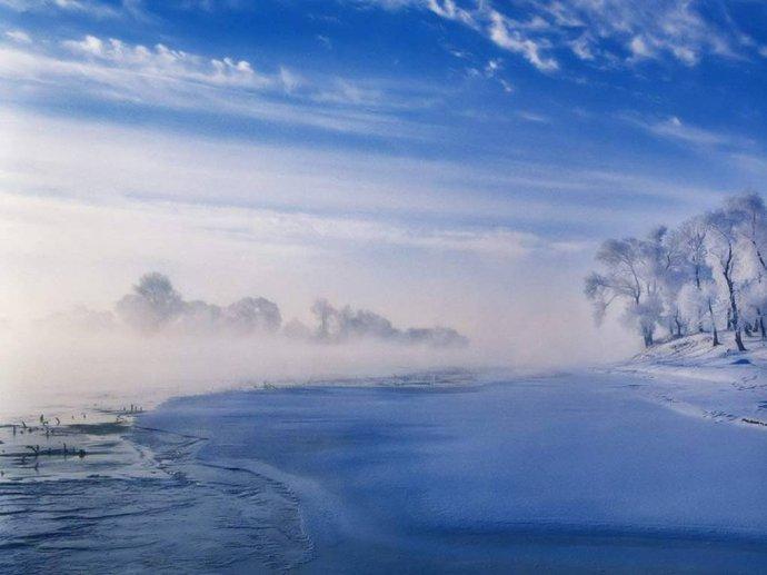北国的雾凇