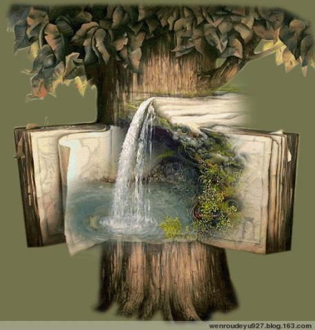另类画 - 温柔细雨 - 一丝小雨盈盈而落......