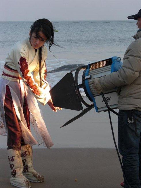 《倚天屠龙记》趙敏又一新造型--水手扮相--很帥 - 冰豆 - 向六的空间
