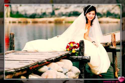 婚,纱,照, - 夏笳 - 夏天的茄子园