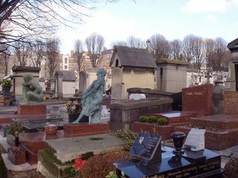 在拉雪茨神父公墓