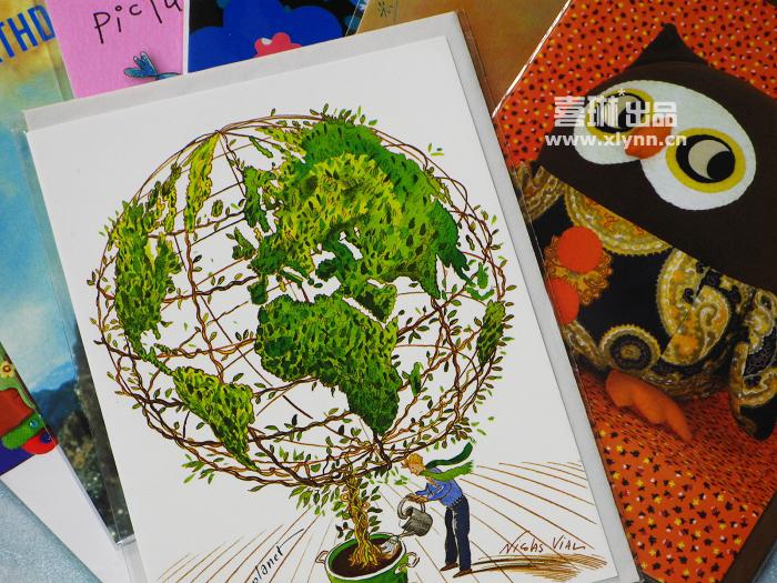 来自新西兰的卡片 - 喜琳 - 喜琳的异想世界