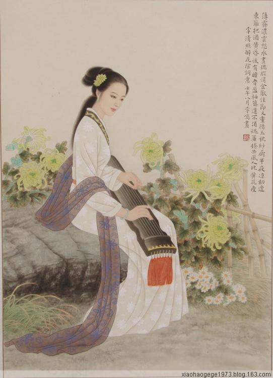 易安词 - xiaohaogege1973 - 独上西楼