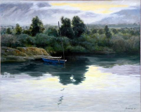 林明琛油画-风景 - 林明琛油画 - 林明琛油画