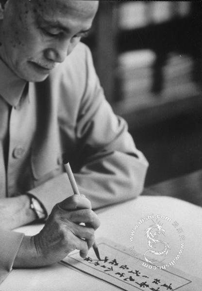 泛黄老照片 图解蒋介石夫妇退守台湾后的晚年生活 - hanwa - 心.灵.的家园