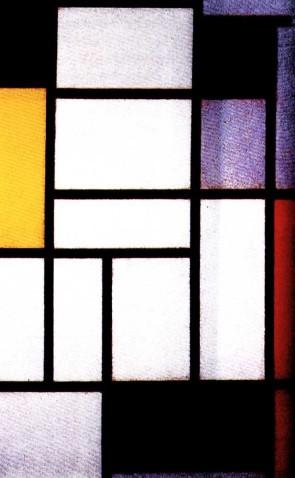 蒙德里安抽象画作品