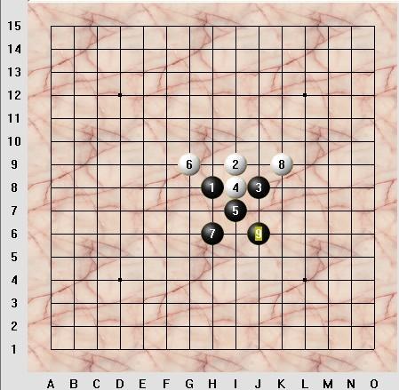 五子棋六种阵法图片