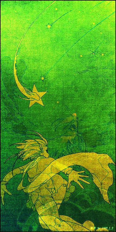 塔罗牌—星辰 - 悬崖上的鲸鱼姬 -