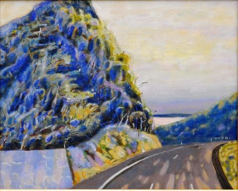 《艺术观潮》发表的作品 - 应歧的油画风景 - 应歧的油画风景