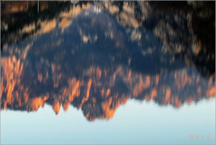 [原创]日暮水中观山色 - 迁徙的鸟 - 迁徙鸟儿的湿地