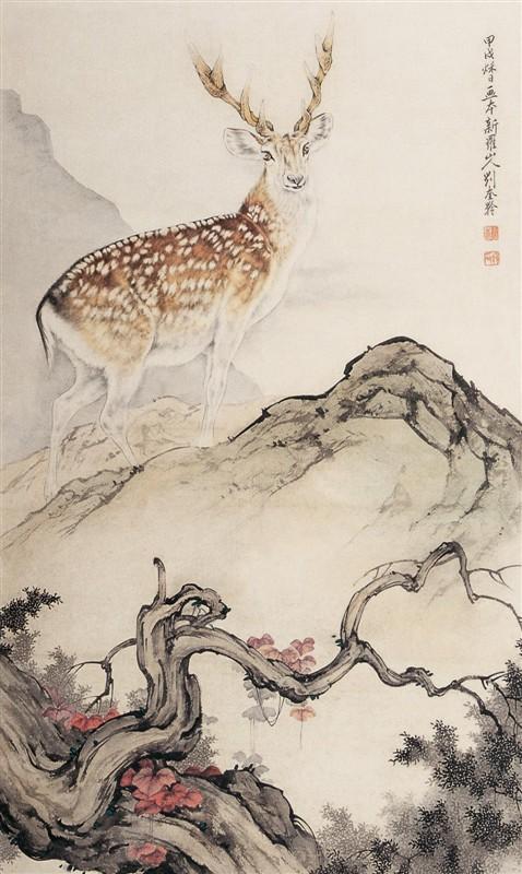 刘奎龄的画 - lidongliang1963.h - 敲开上帝之门的博客