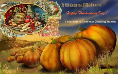 Happy Thanksgiving Day - 青山妩媚 - 青山妩媚