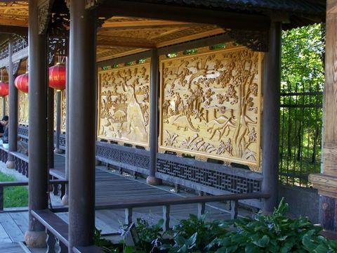 伊春木雕园游记 - 漫天大雪 - 漫天大雪的博客