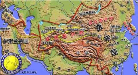 唐朝贞观年间地图