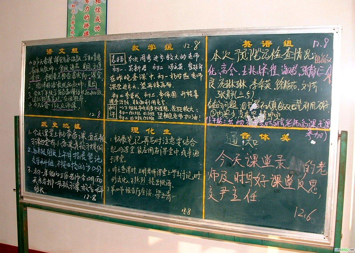 杜郎口中学的真相(附照片 - apple - 幸福是一种感觉