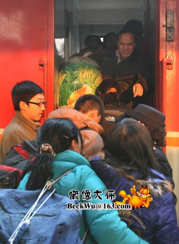 重返四川灾区之旅A·体验春运(16图) - 懒馋大师 - 懒馋大师的猫样生活