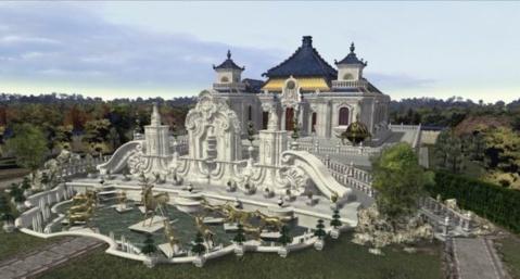 是最为壮观的欧式喷泉景观