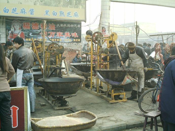 河北小磨香油的制作过程(图) - 郭海臣 - 郭海臣—用脚写作