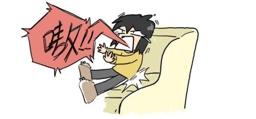 必杀技的危害 - 小步 - 小步漫画日记