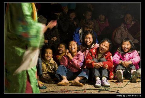快乐的笑容 - 空山听雨 - 空山听雨:摄影是一种力量