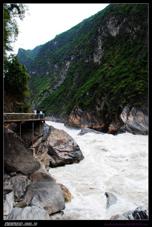 云南2008--虎跳峡 - 米亚罗红叶 - 米亚罗红叶