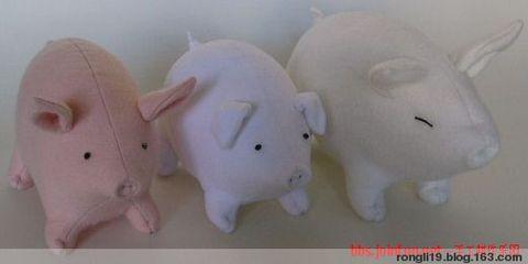 【转载】布艺可爱的小猪 - 檐间听雨 - 檐间听雨的博客
