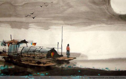 引用 诗书画《盼月-中秋》 - 19640219aiqin - 福到如意  花好月圆