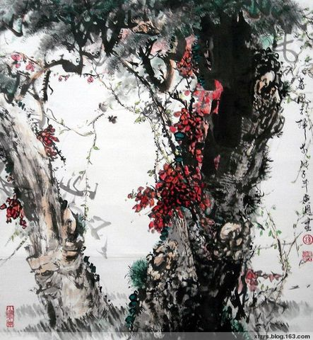 【短讯】市报发《新塘书画作品选》 - 湛汝松 -
