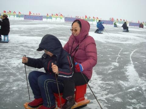 滑冰车 - 九妹的小木屋 - 九妹的小木屋