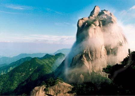 风景名胜记一:天柱山 - 兰森 - 兰森博客