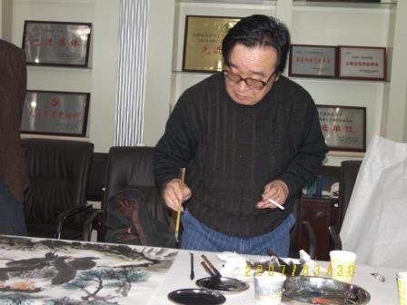 我的摄影作品选14    画家张保亮 - zhengxueshi_818 - zhengxueshi_818的博客