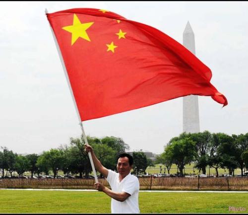 华盛顿白宫前面要升中国国旗? - 高娓娓 - 高看美国