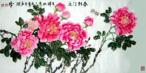 作品欣赏()刘立杰花鸟画2组 - 笑然 - xiaoran321456 的博客