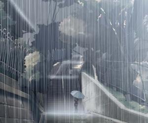 (原创)冬雨 - 江河淸澈 - .