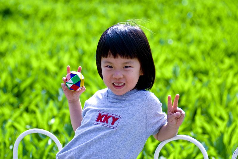 同事的孩子,第一次来 北京,看来是 玩的很开心 - 杜炎鸣 - 眼裏呮ㄚОㄩ