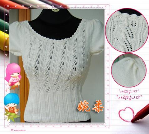 【引用】漂亮毛衣欣赏(无图解) - 馨菊 - 馨菊的博客