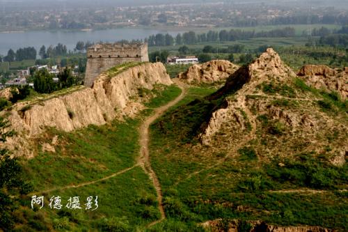 北京陕西自驾之一榆林天下第一台 - 阿德 - 图说北京(阿德摄影)BLOG