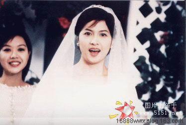 邵美琪婚纱图 - 水无痕 - 明星后花园