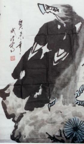 雄鹰 - 飞龙 - 刘相峰 百福 百寿 篆书 国画 书法
