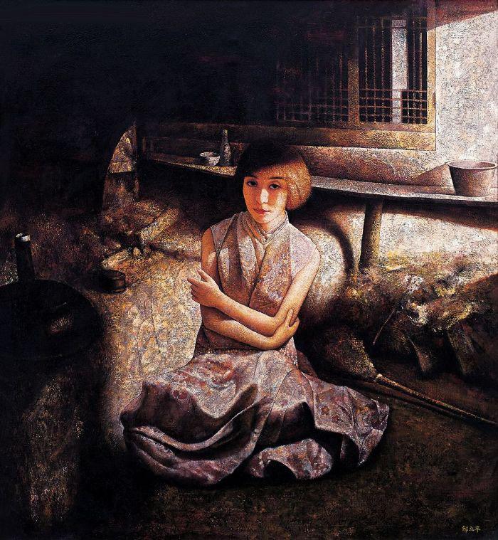 邸立丰油画  - 水^木^白 - 水^木^白艺术收藏