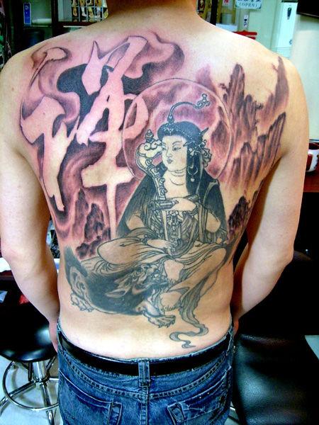 雅桑克莱纹身图片展示