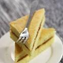 怎样在家自制果酱三明治蛋糕