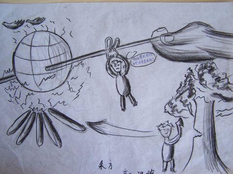 《环境保护》宣传画--学生作品
